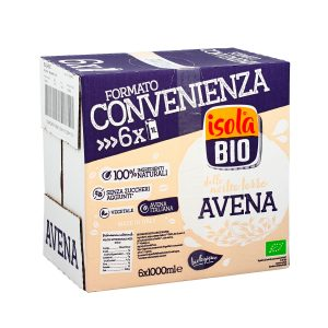 Latte di AVENA family pack 6x1l