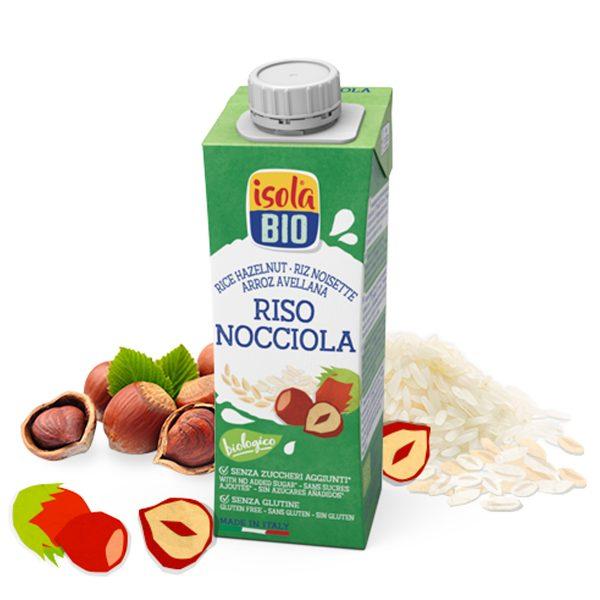 Latte di RISO NOCCIOLA 1l