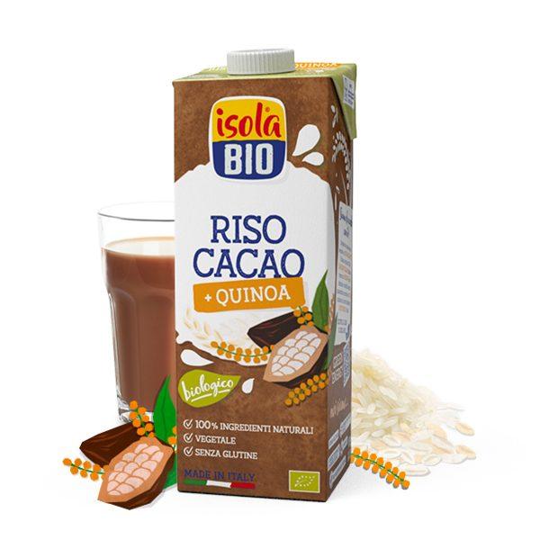 Latte di RISO, quinoa + calcio 1l
