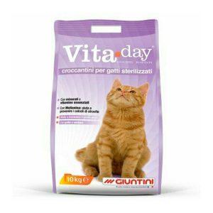 Giuntini Vita Day croccantini per gatti sterilizzati
