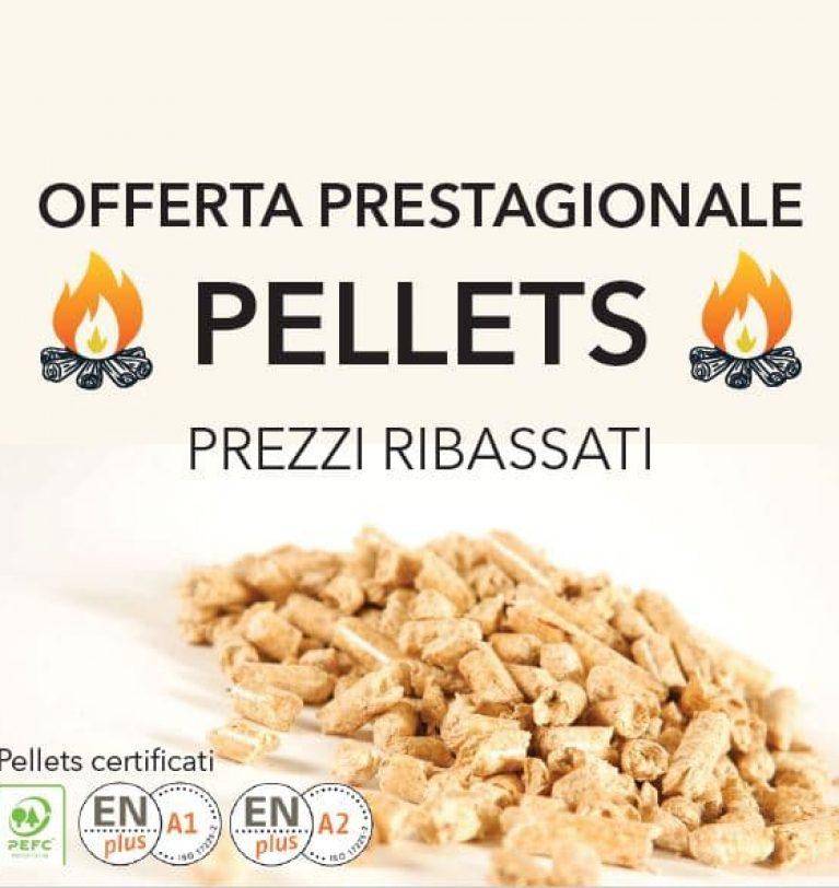 offerta prestagionale pellet