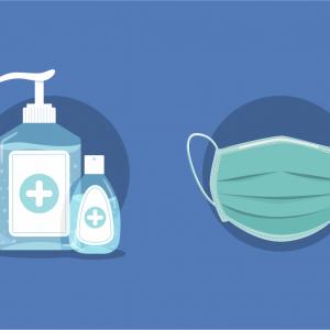 Mascherine e prodotti igienizzanti